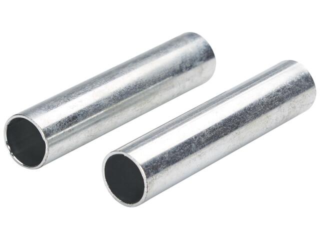 CAMPZ Sleeve Fiberglass Rod 13 mm Set of 2, silver